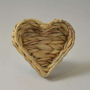 Wicker Heart Tray Small £4 and Large £7 (Free Click & Collect in Selected Stores) @ Dunelm
