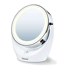 Beurer BS49 Illuminated LED Cosmetic Mirror £6.84 (Prime) + £4.49 (non Prime) at Amazon