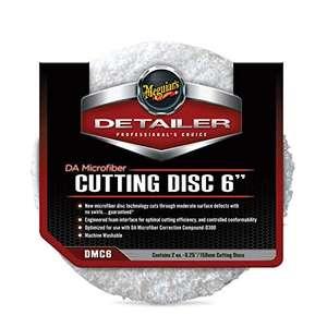 "Meguiar's DMC6 DA Microfibre Cutting Disc 6"" (2 Pack), White £8.24 (Prime) + £4.49 (non Prime) at Amazon"