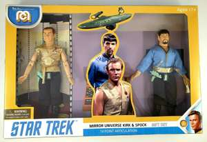 Mego Star Trek Mirror Universe Kirk & Spock, £10 (Was £15) In Store @ B&M (Robroyston, Glasgow)