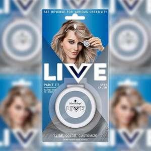 Schwarzkopf Live Paint It Grey Crush Chalk Hair Dye £1.00 Yankee Bundles
