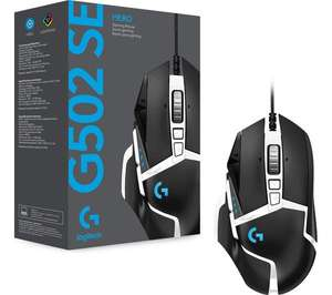 LOGITECH G502 Special Edition Hero Optical Gaming Mouse - £31.97 with code @ Curry's PC World