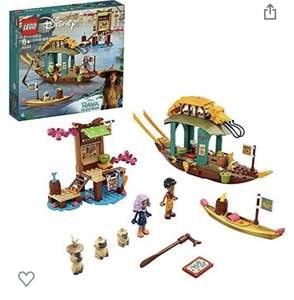 LEGO Disney Princess 43185 Boun's Boat Toy £26.70 delivered @Amazon