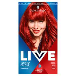 Schwarzkopf Live Hair colour Real Red £2.37 in Asda Blyth