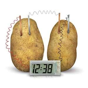 4M Green Science Potato Clock £5.17 (Prime) + £4.49 (non Prime) at Amazon