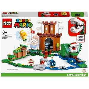 LEGO Super Mario Guarded Fortress Expansion Set (71362) £35.98 delivered at Zavvi