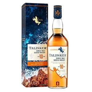 Talisker 10 Year Old Single Malt Scotch Whisky - 70cl £26.99 @ Amazon Prime