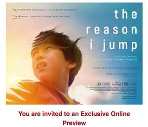 SeeItFirst / SFF Free online preview - The Reason I Jump (members/registration)