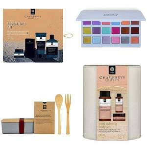 £5 Friday Offers - Champney's Gift Sets for Men & Women, Sleek Eyeshadow Palette, L.A Toothpaste etc + Free click & collect on £15 @ Boots