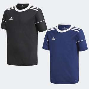 Older Kids / Youth adidas Squadra 17 Jersey Top - Black, or Navy £7.71 / Orange, or Green £7.73 delivered using code via app @ adidas