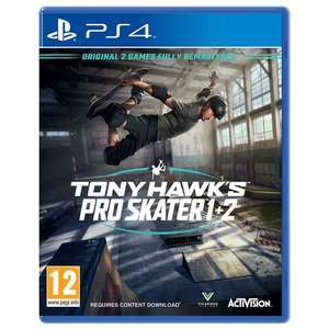 Tony Hawk's Pro Skater 1 & 2 PS4 £15.95 Delivered using code @ GameByte