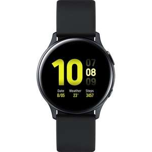 Samsung Galaxy Watch Active 2 GPS -40mm - Black with Free Wireless Charger Pad £196 (£146 after Samsung Cashback) @ AO (UK Mainland)