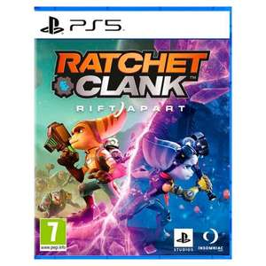 Ratchet and Clank Rift Apart PS5 - £54 with code + £1.50 click and collect (Selected Stores) at Tesco
