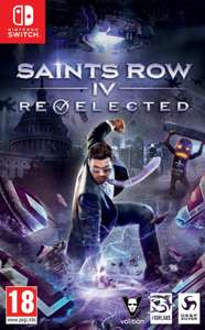Saints Row IV: Re-Elected (Nintendo Switch) - £13.48 delivered (Using Code) @ Boss_deal/eBay