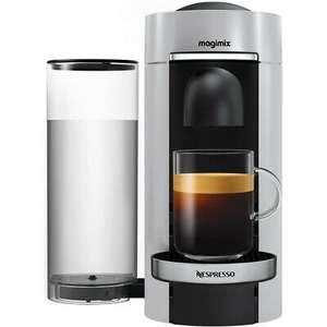 Nespresso by Magimix 11386 Vertuo Plus Pod Coffee Machine 1260 Watt Silver £60 using code - UK Mainland @ AO / Ebay