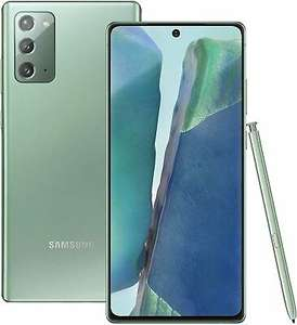 Refurbished Samsung Galaxy Note 20 5G Mystic green Grade B+ £439.79 with code @ cheapest_electrical / ebay