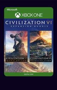 Civilization VI Expansion Bundle (dlc) - Xbox UK Store (digital version) £13.19 @ Microsoft