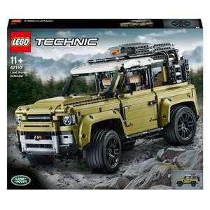 LEGO 42110 Technic Land Rover Defender Off Roader 4x4 £110 @ Smyths