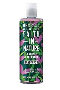 Faith in Nature Lavender & Geranium Handwash 400ml £1.13 @ Tesco Peterborough