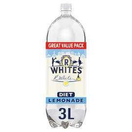 R.White's Diet Lemonade / Lemonade 3 Ltr bottles £1 at Iceland
