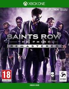 Saints Row The Third Remastered [Xbox One + free Series X Upgrade] £12 delivered using code @ Boss Deals eBay