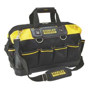 """Stanley Fatmax Hard Base Tool Bag 18"""" £19.99 (Free Click & Collect) at Screwfix"""