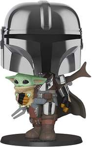 Funko 49931 POP Star Wars Mandalorian with Baby Yoda £24.99 Amazon