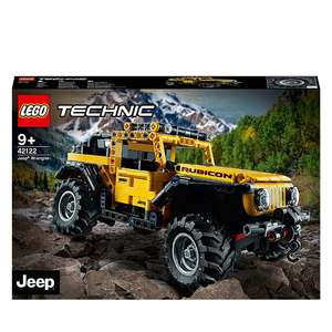 Up to 30% off selected Lego Sets including LEGO Technic 42122 Jeep Wrangler - £28.97 + Free Click & Collect @ Asda (George)