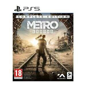 Metro Exodus - Complete Edition [PS5 / Xbox Series X] £25.56 delivered using code @ TheGameCollection eBay