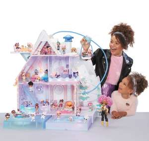 L.O.L. Surprise! Winter Disco Chalet Doll House with 95+ Surprises £100 - Free click and collect at very limited locations @ Smyths Toys