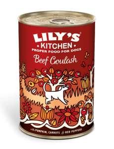 Lily's Kitchen Dog Beef Goulash, 400g - 6 count £2.65 prime / £11.14 non prime @ Amazon