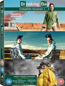 Breaking Bad - Seasons 1-3 (11 Dvd) [Edizione: Regno Unito] - (Uk Edition) - Anna Gunn, Aaron Paul DVD £2.40 @ Rarewaves