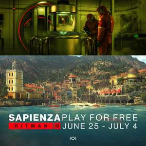 HITMAN 3: Season of Sloth - Play Sapienza for Free & More (PC / Console)