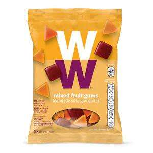 80g bags of Weight Watchers Mixed Fruit Gums/Mixed Sour Gums/Fizzy Cola Gums-69p each or 2 for £1 at Farmfoods Grimsby
