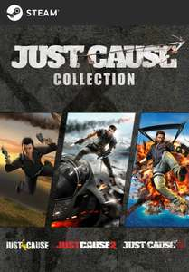 Just Cause Collection (1, 2 & 3 + DLC) PC Download £4.94 @ SquareEnix Store