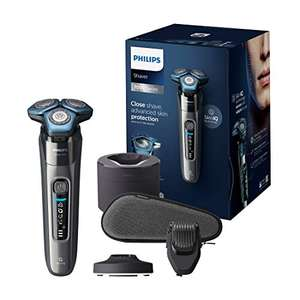 Philips Shaver Series 7000 with Advanced SkinIQ, Wet & Dry Men's Electric Shaver, Steel Precision Blades, Beard Styler - £141 @ Amazon