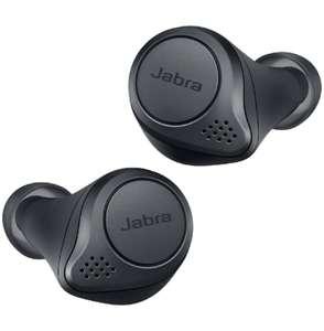 Jabra Elite Active 75t Earbuds with Wireless Charging Case (Dark Grey) - £125.11 @ Amazon