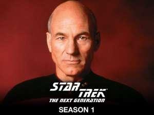 Star Trek, The Next Generation Season 1, HD £4.99 To Own @ Amazon Prime Video