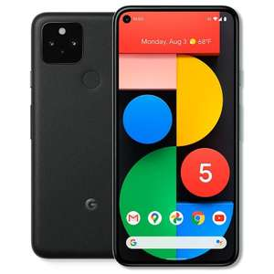Google Pixel 5 5G Smartphone + 18GB Data & Unlimited Mins & Texts - £23pm On Vodafone With £35 Upfront With Code @ Mobiles.co.uk