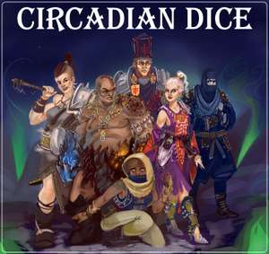 Circadian Dice - Roguelike deckbuilder-like dice game, pay what you want including free at itch.io