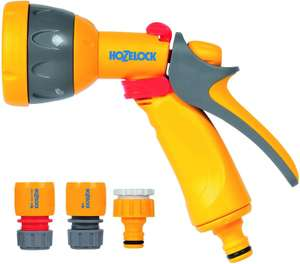 Hozelock Multi Spray Watering Gun Starter Set - £10 (+£4.49 Non Prime) @ Amazon