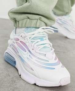 Women's/girls Nike Air Max Exosense Trainers in white - £38.68 with code @ ASOS