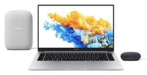 "Honor MagicBook Pro AMD Ryzen 5 16GB 512GB SSD 16.1"" Laptop FREE Google NEST Audio Bundle £849.97 at Box.co.uk"