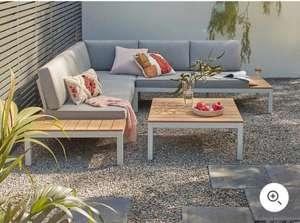 Spirit Garden Corner Sofa Set - Grey £850 delivered @ Homebase