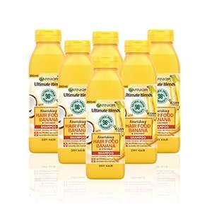 Garnier Ultimate Blends Hair Food Banana Shampoo For Dry Hair 98% Natural Origin 350ml x 6, £7.82 Like New (+£4.49 NP) @ Amazon Warehouse
