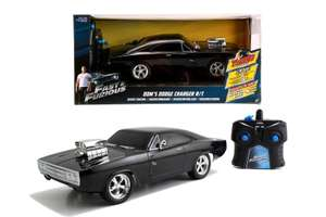Jada Dodge Charger Fast & Furious 1:24 Radio Controlled Car £10 (free click & collect / £3.95 Delivery) @ Argos