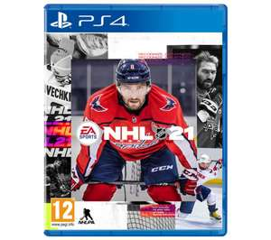 NHL 21 PlayStation 4 Game, £6.48 at Currys PC world (with code)