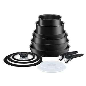 Ingenio Expertise L6509042 13-Piece Pan Set - Dark Grey £135 with code at Tefal Shop