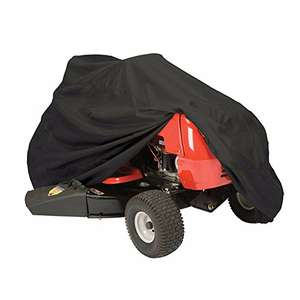 Lawn Mower Cover Lawn Tractor Waterproof Heavy Duty Water and UV Mildew Dustproof Cover £10.39 (Prime) + £4.49 (non Prime) at Amazon