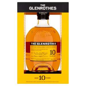 Glenrothes 10 Year Old Single Malt Whisky 70Cl £23.56 at Tesco (Solihul)